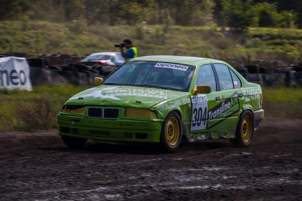 BMW E36 Rallycross car