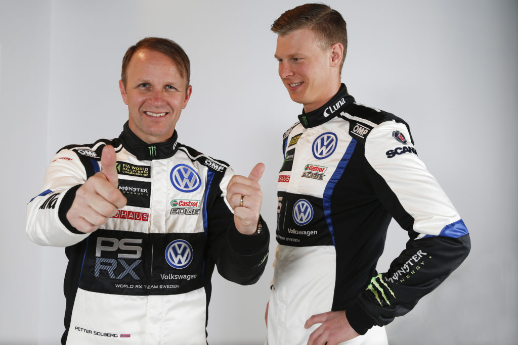 Petter Solberg & Johan Kristoffersson