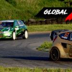Jacek Ptaszek vs Mateusz Ludwiczak vs Lukáš Červený | Globalrallycross.com