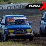 Marcin Bruś vs Damian Stachowiak Fiat 126p | Globalrallycross.com