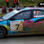 Mateusz Ludwiczak Mitsubishi Lancer EXO X   Globalrallycross.com