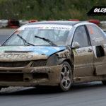Marcin Gagacki Mitsubishi Lancer EVO RX   Globalrallycross.com