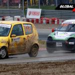 Roksana Noniewicz vs Grzegorz Sułko Fiat Seicento   Globalrallycross.com