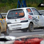 Bartosz Smolarek vs Mateusz Kurkowski Fiat Seicento   Globalrallycross.com