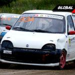 Adam Szpakowski vs Marcel Kruszyński Fiat Seicento   Globalrallycross.com