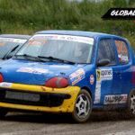 Mikołaj Graszek vs Piotr Piętak Fiat Seicento   Globalrallycross.com