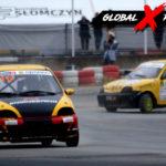 Mariusz Nowocień vs Marcin Lisicki Fiat Seicento   Globalrallycross.com