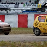 Marcin Lisicki vs Łukasz Żakowski Fiat Seicento   Globalrallycross.com