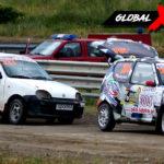 Piotr Budzyński vs Marek Polit Fiat Seicento   Globalrallycross.com