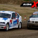 Teddy vs Wojciech Topolewski BMW E36   Globalrallycross.com