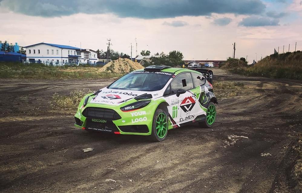 Elektryczny rallycross - E-RX1