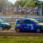 Kamil Stachowiak vs Grzegorz Sułko Fiat Seicento | Globalrallycross.com