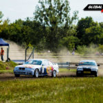 Jan Rudak vs Beata Borowicz BMW E36 | Globalrallycross.com