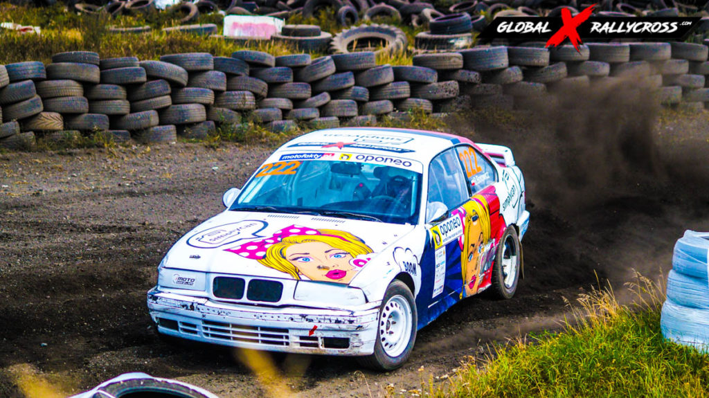 Beata Borowicz BMW E36 | Globalrallycross.com