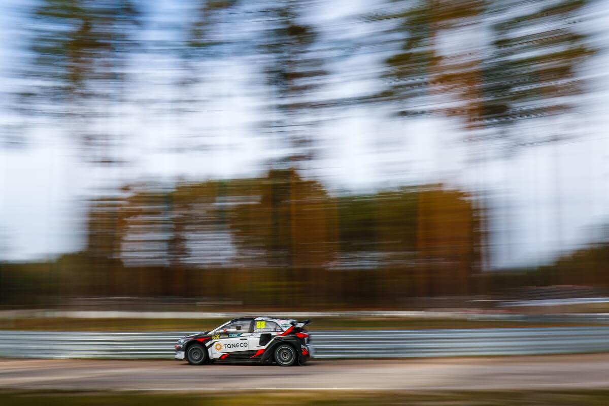 World RX of Latvia - Gronholm