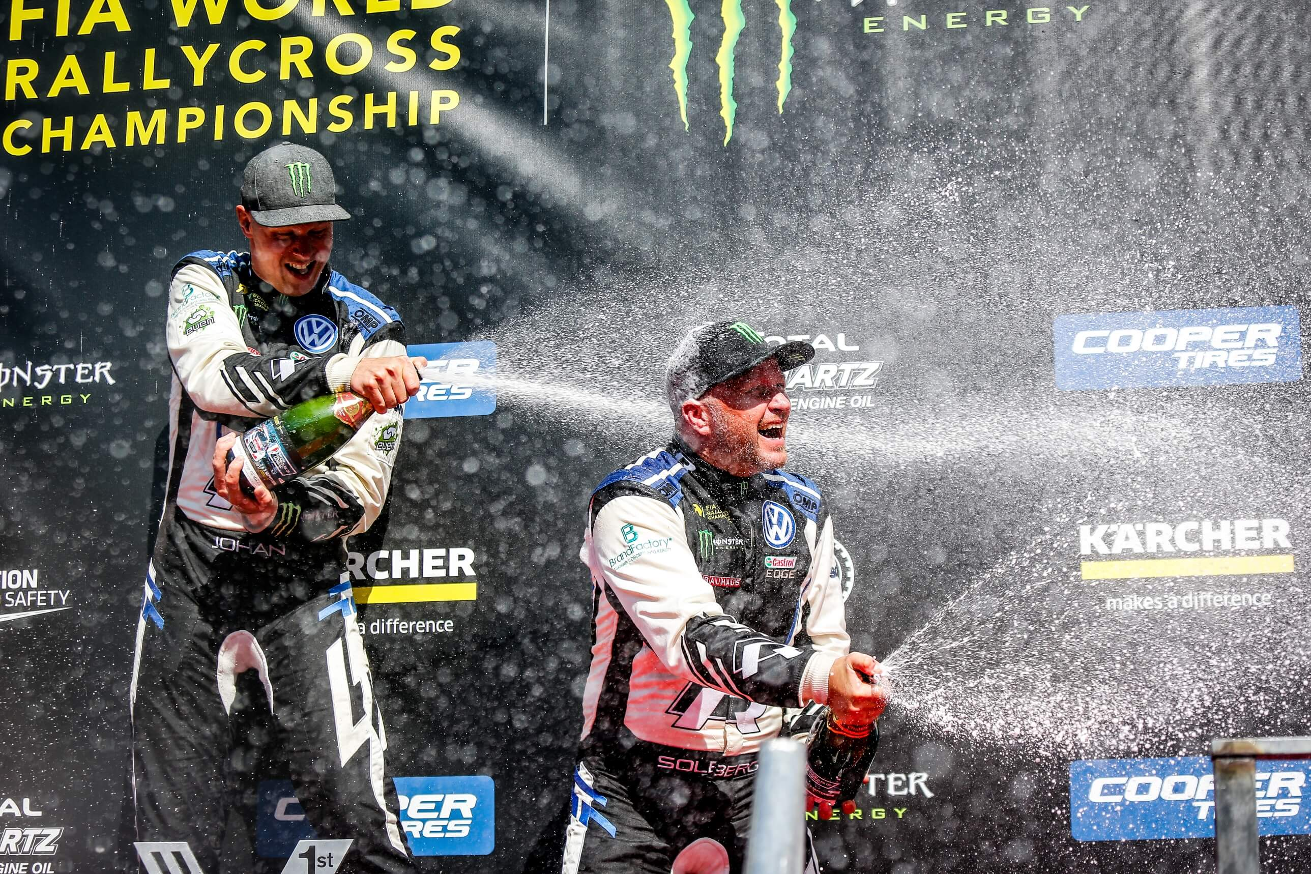 Podium - World RX of France 2018