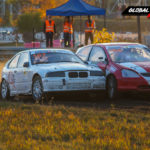 BMW E36 Compact vs Honda Civic | Globalrallycross.com