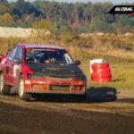 Sarunas Glikas Mitsubishi Lancer EVO IX | Globalrallycross.com