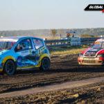 Citroen C2 VTS vs Citroen Saxo VTS | Globalrallycross.com