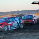 Ford Fiesta RX vs Mitsubishi Lancer EVO IX | Globalrallycross.com