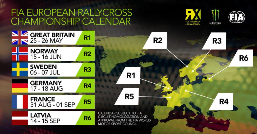 Calendar: Euro RX 2019 | SuperCar