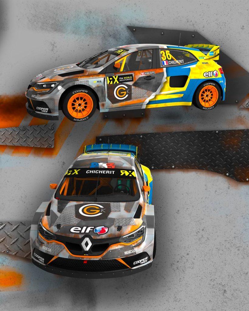 GCK Renault Megane RS RX