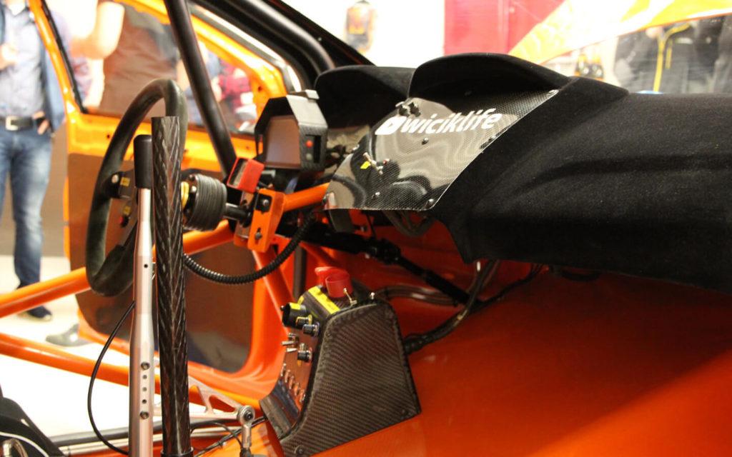 Wnętrze Ford Focus RS RX