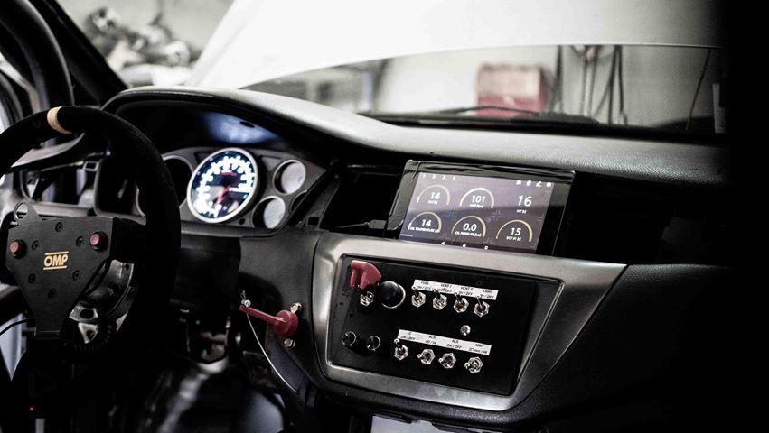 Piotr Czekański Mitsubishi Lancer