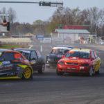 #402 Łukasz Zoll #202 Jakub Iwanek #411 Michał Genstwa | SuperNational | Rallycross Słomczyn 2019