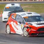 #112 Mariusz Nowocień #108 Bartosz Idźkowski | SuperCars | Rallycross Słomczyn 2019