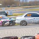 #107 Jerzy Szynkiewicz #103 Paweł Żeromiński | SuperCars | Rallycross Słomczyn 2019