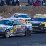 #407 Daniel Krzysiak #404 Damian Litwinowicz #411 Michał Genstwa | SuperNational | Rallycross Słomczyn 2019