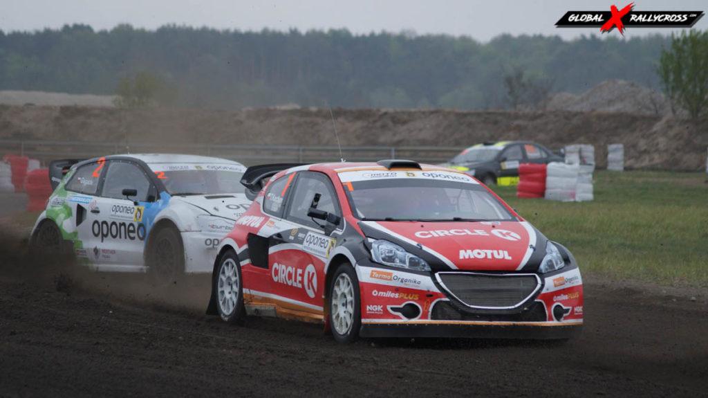 Oponeo Rallycross w Toruniu - klasa SuperCars