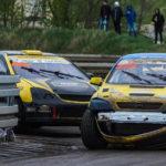 #222 Łukasz Tyszkiewicz #404 Damian Litwinowicz | SuperNational | Rallycross Toruń 2019