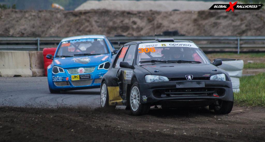 #306 Jakub Kowalczyk #299 Marko Vladimir | SuperNational | Rallycross Toruń 2019