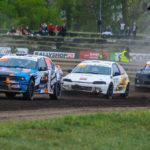 #408 Michał Kuna #214 Wiktors Ellers #312 Krists Uldis | SuperNational | Rallycross Toruń 2019