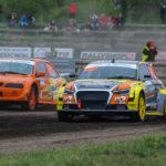 #402 Łukasz Zoll #212 Uldis Valters | SuperNational | Rallycross Toruń 2019