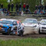 #408 Michał Kuna #203 Tomáš Michal #204 Jakub Michal | SuperNational | Rallycross Toruń 2019