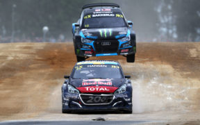 Bakkerud chasing Hansen | World RX of Great Britain