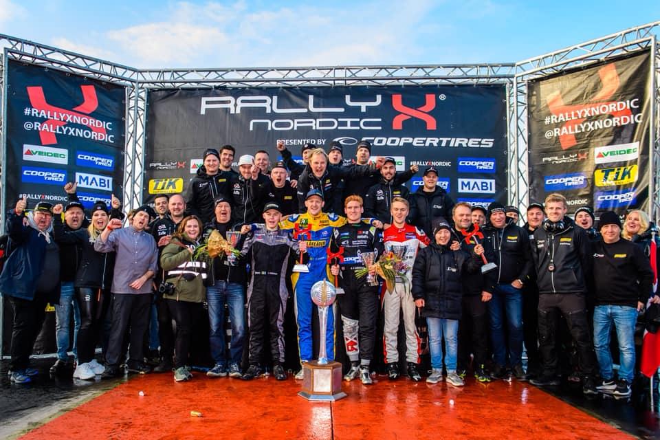 RallyX Nordic 2019 Champion: Robin Larsson