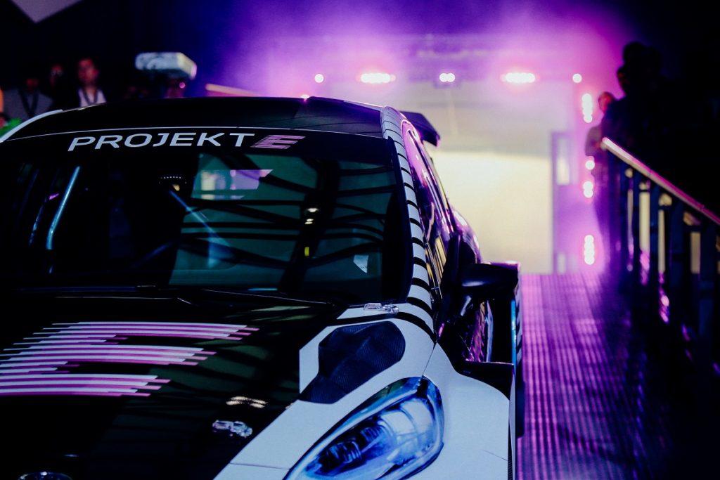Projekt E Ford Fiesta RaceCar