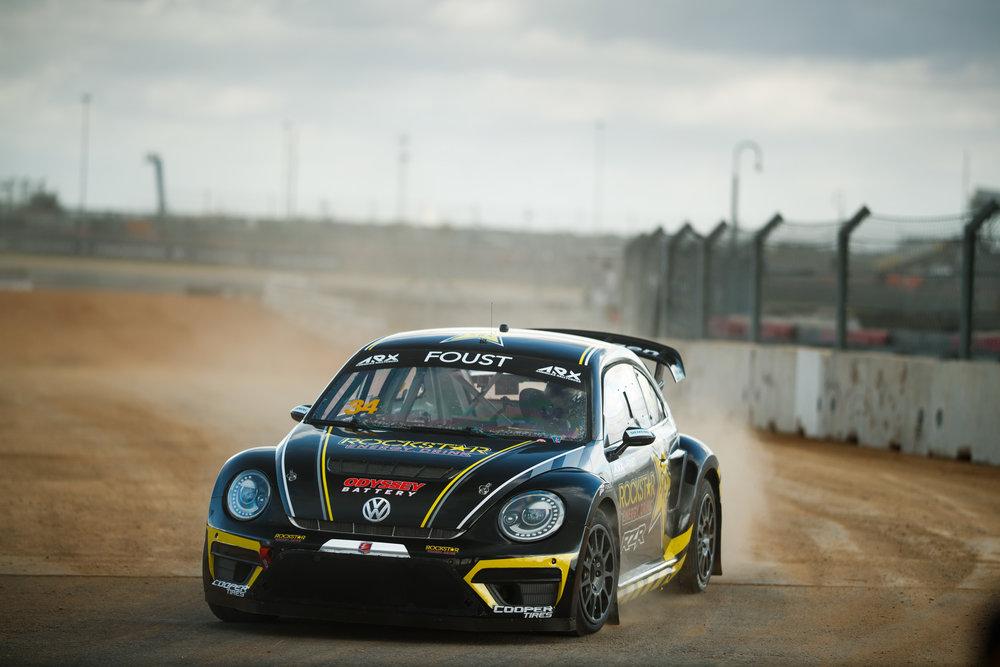 Tanner Foust | Volkswagen Beetle R | Americas Rallycross 2019
