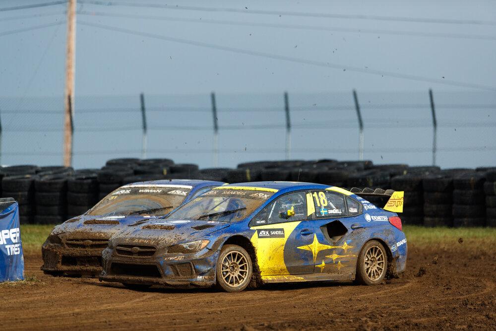 Patrik Sandell & Joni Wiman | Subaru RAlly Team USA