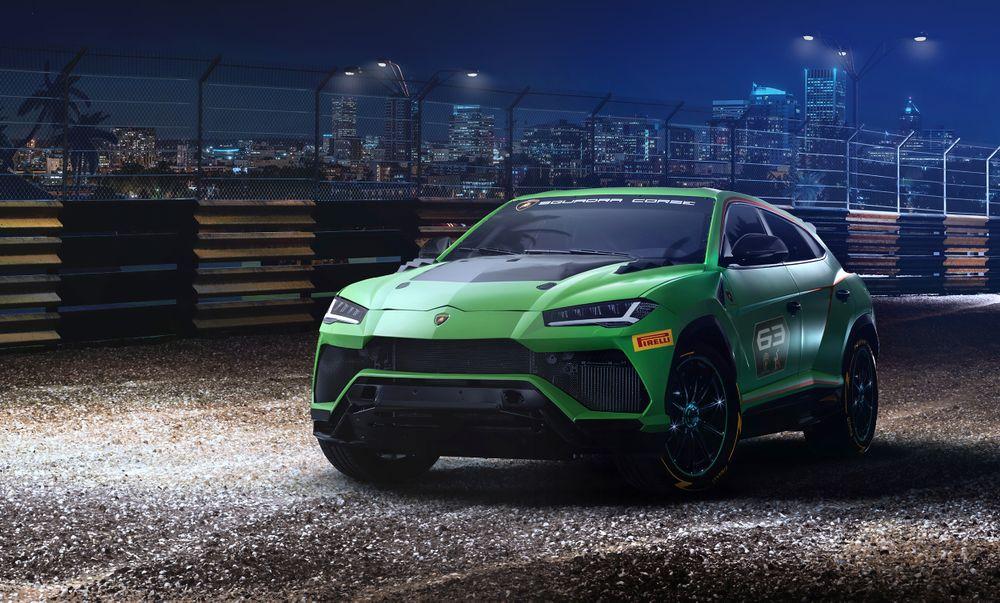 Lamborghini Urus Rallycross Concept
