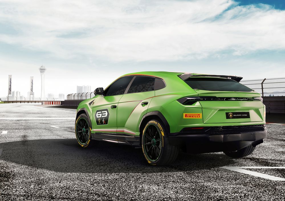 Lamborghini Urus ST-X back